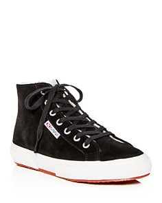 Superga - Women's Suede High-Top Sneakers